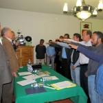 La toma de protesta del nuevo Comité Seccional
