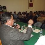 Secretario de organización del comité Nacional, Leoncio Peregrina Buelna
