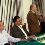 dirigente Nacional del STIRT, Ricardo Acedo Samaniego