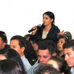 karina Armenta reconce el trabajo de su dirigente