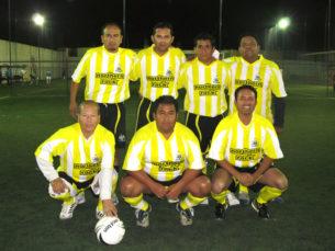 Inauguración del torneo de fútbol del STIRT