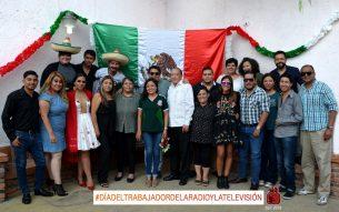 Día del trabajador de la Radio y Tv en San luis Potosí